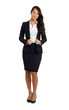 Formal Asian Business Woman