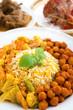 Hot fresh biryani rice