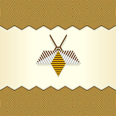 Abstract Geometrical Bee