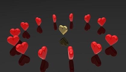 Runaround hearts - dancing heart.