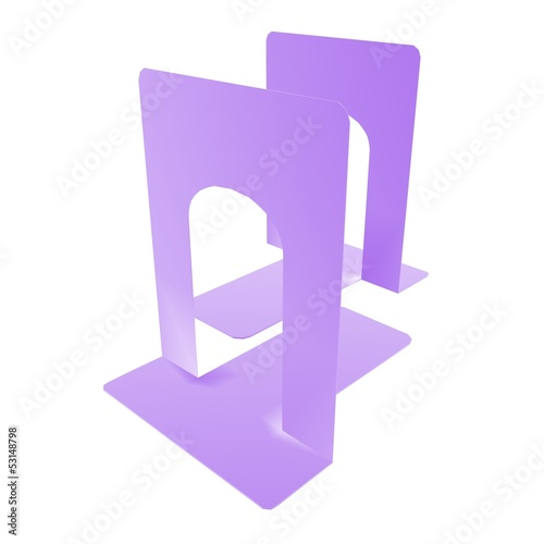bookstand purple