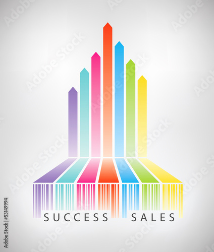 Success electronic commerce concept