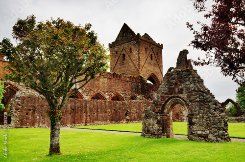 View of Sweetheart Abbey, Dumfries and Galloway