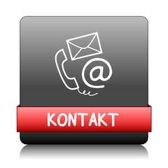 """""""KONTAKT"""" Button (Kundenservice Web Rufen Sie Uns Knopf Hotline)"""