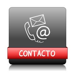 """Botón Web """"CONTACTO"""" (soporte técnico servicio al cliente ayuda)"""