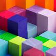 canvas print picture - Hintergrund / Neon