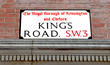 Постер, плакат: Kings Road Famous London Street