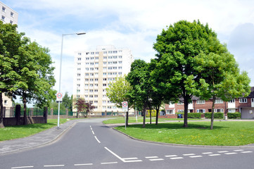 Local Authority Housing Estate