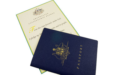 passport and citizen pledge