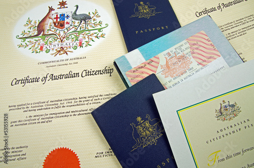 australian citizenship documents