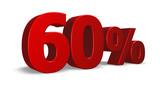 sixty per cent