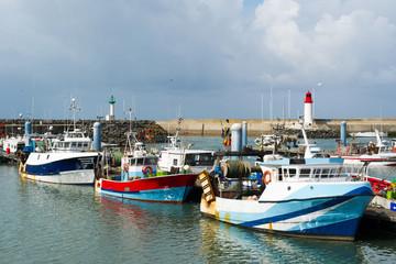 Harbor in France