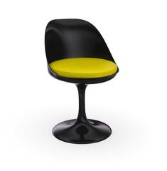 Futuristischer Stuhl - Schwarz Gelb