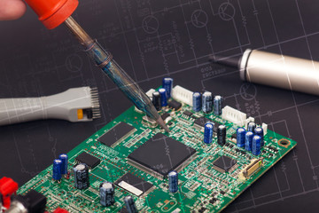 Electronic reparation