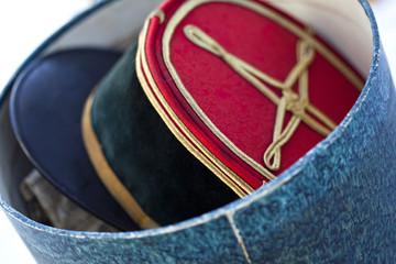Militaire, chapeau, uniforme, prestige, képi, armée, mode