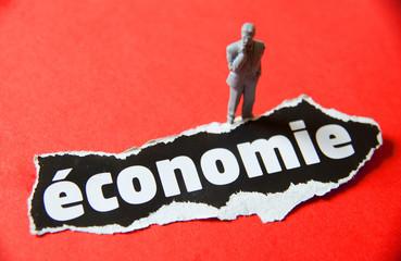 homme d'affaires économie