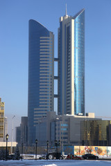Astana. Modern building