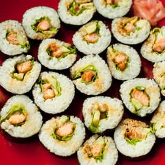 sushi składnik mak domowy
