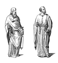 Apostels : St Paul & St Peter