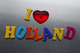 i love Holland sign