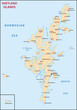 Shetland Islands map