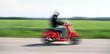 Balade en scooter