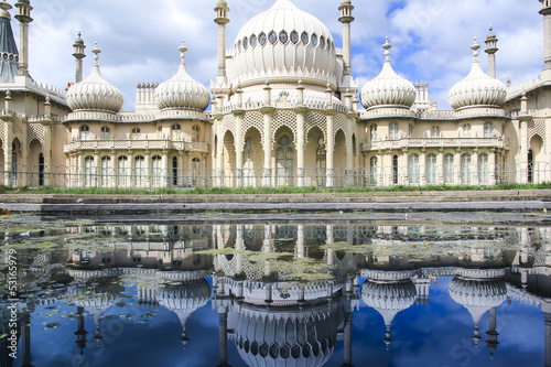 royal pavillion panorama brighton