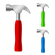 Multi-colored hammers