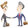 Business people, deal, handshake, business relations
