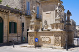Fototapety Column of Madonna delle Grazie. Maglie. Puglia. Italy.