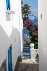 Alley in Lipari island
