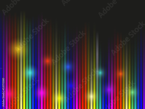 Disco Stripes Background