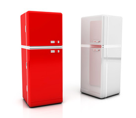 Two refrigerator
