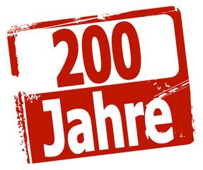 200 Jahre