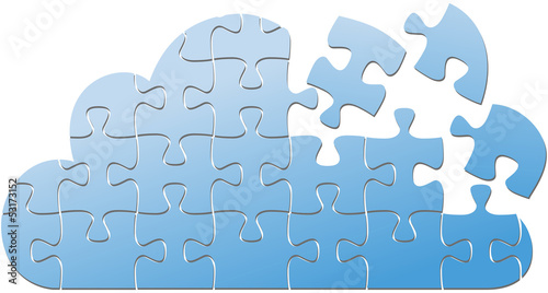 Cloud computing IT puzzle solution