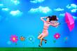flying walk
