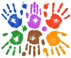 handprint set