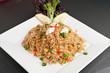 Crab Fried Rice Dish