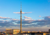 Ostankino Tele Tower evening