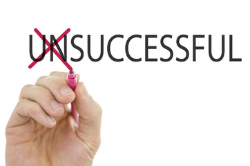Turning the word Unsuccessful into Successful