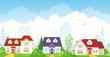 Summer suburb - 53178983