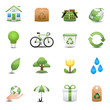 Green Ecology Icon Set