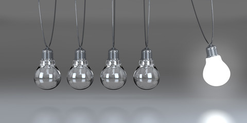 Newton bulbs