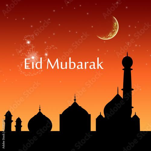 Eid Evening Sky