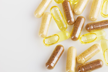 supplements and capsules