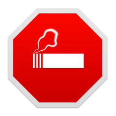 Stop smoking sign.