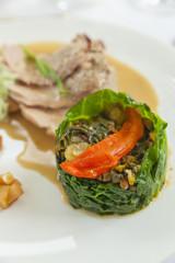 low fat summer lean cuisine veal & vegetables
