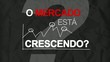 Mercado crescendo marketing para atingir clientes vídeo