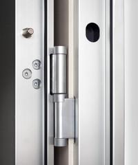 Wooden doors with lock 14