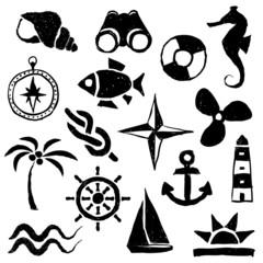 doodle marine images